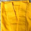 ビタミンカラーの夏長襦袢と透ける夏着物の画像