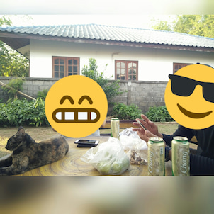タイ人の友達の実家へ。の画像