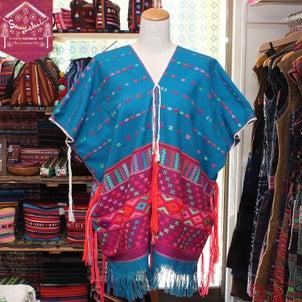 色鮮やかなカレン族刺繍貫頭衣トップス*6color*が新入荷☆の画像