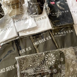 HIDEANDSEEK 20SS 6/20 DELIVERY.の画像
