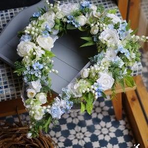 【募集/AIBA-1Dayレッスン】ドロップリース・白ブルーの画像