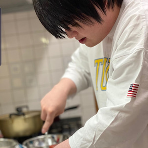 【挑戦】初めてのパンケーキ作り!【料理】の画像