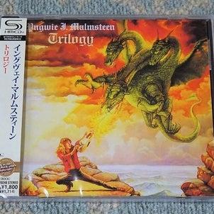 「トリロジー」のSHM-CDを購入(イングヴェイ・マルムスティーン)の画像