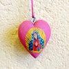 メキシコのマリア様の木製飾り[Pick Up]の画像