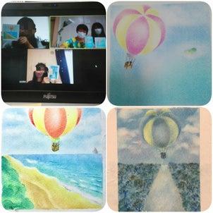 気球は、どんどん飛んでいくの画像