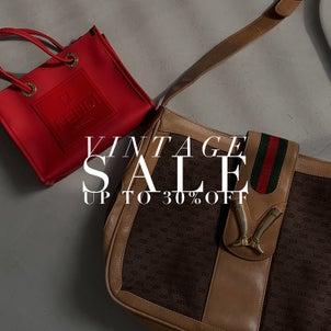SALE情報♡Brand Vintage item SALE START!の画像