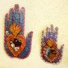 メキシコの手のブリキミラー[Pick Up]の画像
