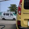 ルノーカングー   車のシート洗浄の画像