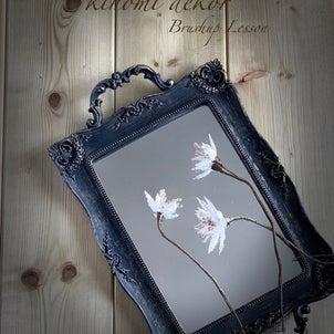 繊細な細工が美しい✨装飾ブイロン花✨の画像