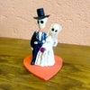 メキシコのガイコツウエディングカップル[Pick Up]の画像