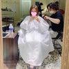 2週間もせずカットに行ったことと、「前髪とめ~る」の画像