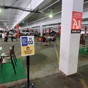 ガレージ駐車場が食事場所になっちゃった!【Gギャラリアモールの今】の画像