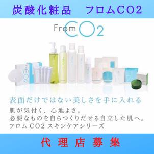 【代理店募集】お客様・自分の肌も喜ぶ♡炭酸化粧品フロムCO2を販売してみませんか?の画像