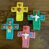 メキシコの陶作家アギラールファミリーの十字架[Pick Up]の画像