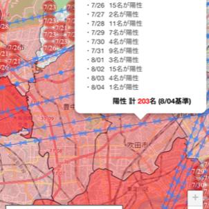吹田市のコロナの状況や吹田市を紹介したら、ランキングが59位に 余り高くなると変なこと書けない~の画像