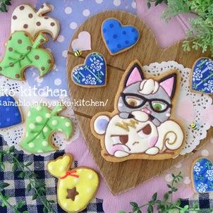 *あつ森*ジュンとジャックの仲良しアイシングクッキー♡の画像