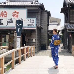 [動画] 昭和27年頃の街並みにタイムスリップ 映え浴衣撮影の画像