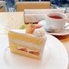 桃のショートケーキ♡ヴィーナスマネースクール生とお茶する休日の画像