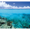 沖縄県 波照間島の海の画像