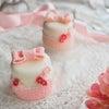 お砂糖で作る飾っておけるケーキのワークショップ 江別市西野幌の「カフェくまいちご」さんにての画像