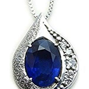 綺麗なサファイア そしてダイヤモンド これはお得品!の画像