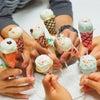 ラング・ド・シャ+ケーキポップスでアイスクリーム風先日の親子レッスンはJSA公式レッスン...の画像