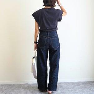 定番『デニム×Tシャツ』が小洒落て見える!NANING9のフレンチスリーブT@天王寺お出かけ♩の画像