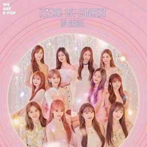 IZ*ONE 1ST CONCERT IN SEOUL「EYES ON ME」DVD/BLU−Rの画像