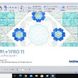 刺しゅうプロ11発売したのでインストールしてみました!の画像