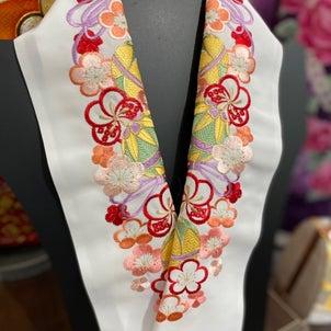 振袖用刺繍の半衿の画像