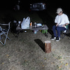 仕事終わりにプチキャンプの画像
