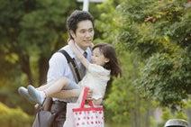 新婚ホヤホヤの松山ケンイチが子育てに奮闘!? 『うさぎドロップ』予告編が解禁