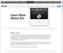 アップル、iPhone4Sの新機能「Siri」のFAQを公開-日本語対応は2012年