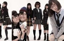 AKB48、メガネルック解禁 キュートな制服ファッションも披露