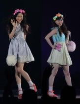 乃木坂46白石・西野、アイドルの先輩とランウェイに登場!<GirlsAward 2013春夏>