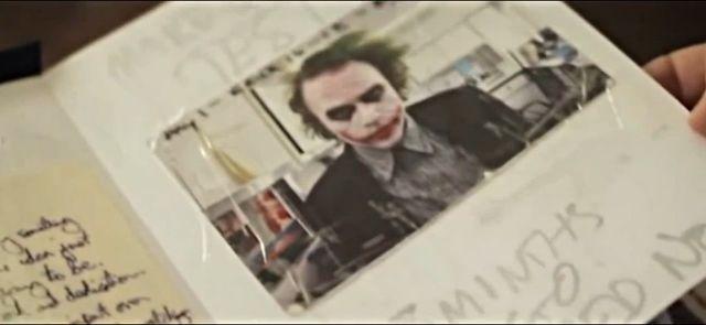 ダークナイト』で「ジョーカー」を演じたヒース・レジャーの日記