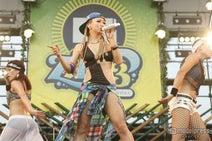 倖田來未、夏フェス野外ライブでハプニング