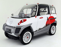 元トヨタ「COMS」の開発者が水上浮揚する小型EVを発表!