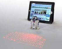 ラナ、「R2-D2」をモチーフにした投影式キーボードを発売