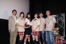 川本まゆ 初主演映画「Z~ゼット~果てなき希望」が初日! 初主演の映画がこの作品で本当に幸せです!
