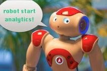 店先のロボットが顧客を分析するマーケティングソリューション、登場