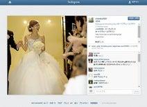 安田美沙子 結婚式の幸せウェディングドレス姿公開