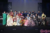 栞菜、坂田しおり、階戸瑠李が三国志の世界へ 舞台「龍狼伝」は満身これ胆なり!