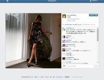 山田優 大胆ミニスカドレスで披露の美脚に絶賛の声