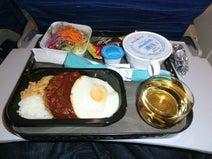 機内食には満足していますか?機内食がマズいのはどうやら騒音のせい