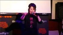 畑中葉子「後から前からTシャツ祭り」で芸能裏話も「♪後から前から~」「♪どうぞ!」