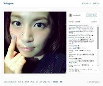 安田美沙子 酔っぱらいメイク・ドアップ写真公開が好評