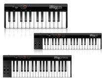 フォーカルポイントからIK Multimedia製の超コンパクトなUSB MIDIキーボード3モデル