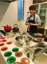 保田圭 華原朋美と一緒にバレンタインのチョコを手作り