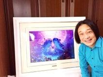 永野 62万円のラッセンの絵公開し「毎日に張りが出ます」